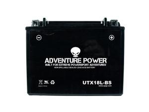 Adventure Power Dry Charge AGM Battery 42007