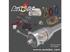 Autoloc Yellow / Amber One Touch Engine Start Kit With Column Insert And Remote AUTHFS2501Y