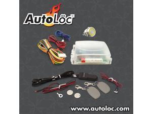 Autoloc Yellow / Amber One Touch Engine Start Kit With Rfid AUTHFS1002Y