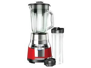 Black & Decker BL1821RG-P  Red  20 oz. Jar Size FusionBlade™ Digital Blender with Personal Smoothie Jar