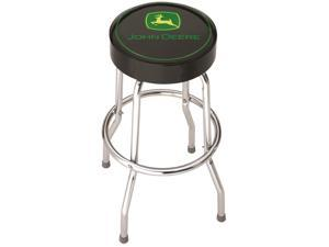 Plasticolor John Deere Black Garage Stool 004746R01