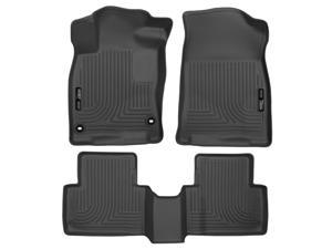 Husky Liners Weatherbeater Series Front & 2nd Seat Floor Liners (Footwell Coverage) 98461