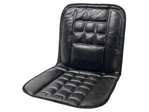 Wagan 9615 Leather Cushion with Ergonomic Design in Black