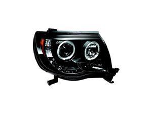 IPCW Projector Headlight CWS-2040B2 05-10 Toyota Tacoma Black