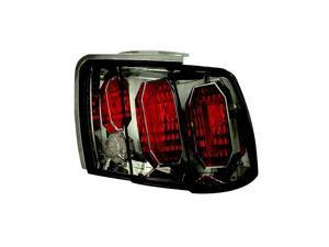 IPCW Tail Lamp CWT-CE521CS 99-04 Ford Mustang Platinum Smoke