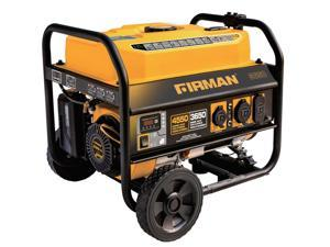 Firman Power Equipment P03602 Gas Powered 3650/4550 Watt (Performance Series) Extended Run Time Portable Generator with Wheel Kit