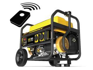 Firman Power Equipment P03603 Gas Powered 3650/4550 Watt (Whisper Series) Extended Run Time Portable Remote Start Generator with Wheel Kit
