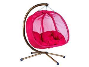 Flowerhouse Hanging Pumpkin Chair- Red, FHPC100-RD