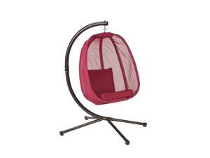 Flowerhouse FHEC100-RD Hanging Egg Chair - Red