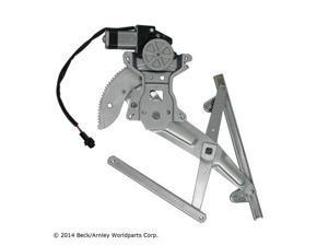 Beck Arnley Window Regulator Power W Motor Rear Left 212-0045
