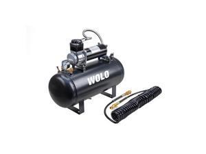 Wolo Manufacturing Heavy-Duty Compressor & 2.5 Gallon Tank 860