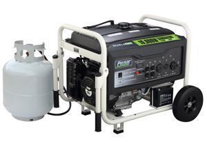 Pulsar PG10000B 10000 Watt Dual Fuel (Hybrid) Portable Generator (Black)