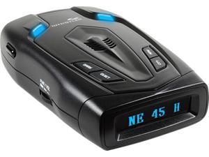 Whistler RD-50x Radar Detector with Blue OLED Text Display & Digital Compass, Black
