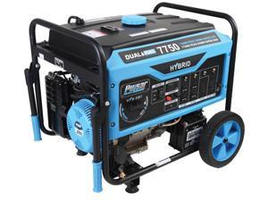 Pulsar PG7750B 7750/6250 Watt 6250/5950 Watt Dual Fuel Generator with Switch & Go Technology