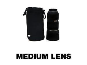 50-150mm Lens Sleeve, Shoulder Belt Clip attachmentFits Nikon, Canon, Sigma, Tamron Lens