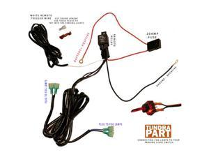 16 gauge Wiring Harness for 2 x lights output