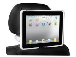 iPad 1 Case and Car Mount Head Rest - Gloss White