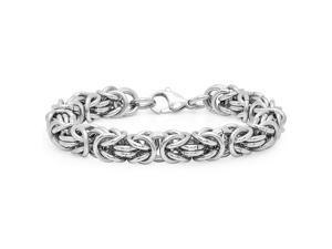 Oxford Ivy TSB0117 8 1/2 Inches Men's Stainless Steel Chain Link Bracelet