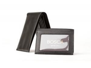 Bosca Mens Credit Wallet with Removavle ID Passcase- Nappa Vitello