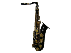 Merano B Flat Black Tenor Saxophone with Case