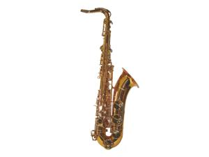Merano B Flat Gold Tenor Saxophone with Case