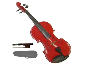 """Merano MA10 10"""" Red Student Viola with Case, Bow + Free Rosin"""