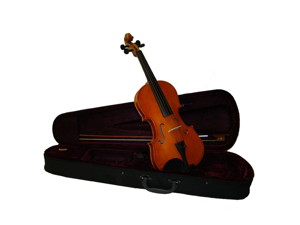 Merano MV10 1/2 Size Natural Student Violin with Case, Bow + Free Rosin