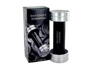Davidoff Champion by Davidoff Eau De Toilette Spray 3.4 oz