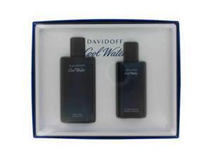 COOL WATER by Davidoff Gift Set -- 4.2 oz Eau De Toilette Spray + 2.5 oz After Shave Splash for Men