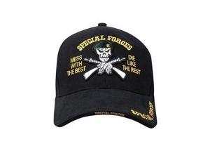 Raised Embroidery And Special Forces Logo Cap