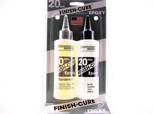 BSI FINISH-CURE 20 minute EPOXY 9oz Hobby Modeling Adhesives Glue USA
