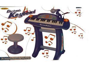 36 Key Musical Insturment Electronic Keyboard (Blue)