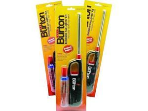 Refillable Gas Lighter Kit, Includes Butane Fuel Refill Burton 1254 769372012546