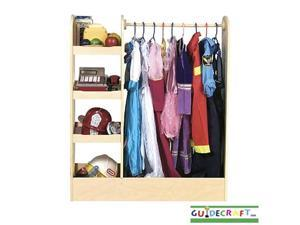 Guidecraft See and Store Dress Up Center Design: Natural
