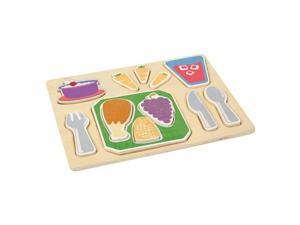 Guidecraft Sorting Food Tray - Dinner, Multi - G462