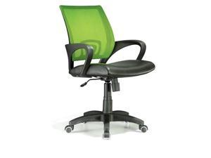 LumiSource OFC-OFFCR LG Officer Office Chair Lime Green