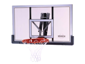 """Lifetime World Class 73729 Basketball Board and Rim with 48"""" Shatterguard Board"""