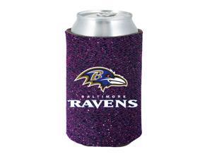 Baltimore Ravens Kolder Kaddy Can Holder - Glitter