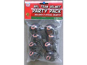 Chicago Bears Team Helmet Party Pack