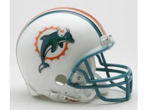 Miami Dolphins 1997-2012 Throwback Replica Mini Helmet w/Z2B Mask