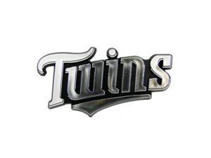 Minnesota Twins Silver Auto Emblem