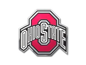 Ohio State Buckeyes Color Auto Emblem - Die Cut