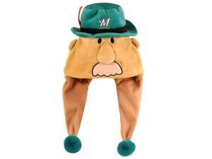 Milwaukee Brewers Bratwurst Mascot Themed Dangle Hat