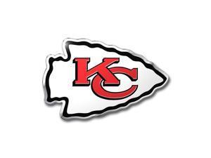 Kansas City Chiefs Color Auto Emblem - Die Cut