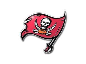 Tampa Bay Buccaneers Color Auto Emblem - Die Cut