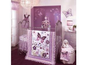 Lambs & Ivy 5 Count Bedding Set, Butterfly Lane