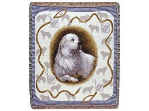 """Great Pyrenees Dog Tapestry Throw By Artist Pat Lehmkuhl 50"""" x 60"""""""