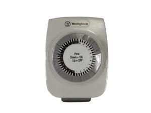 Westinghouse 1-Outlet Indoor 24 Hour Mechanical Timer for 1 Electrical Device