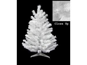 2' Snow White Artificial Christmas Tree - Unlit