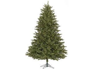 14' Pre-Lit Balsam Fir Artificial Christmas Tree - Warm White LED Lights